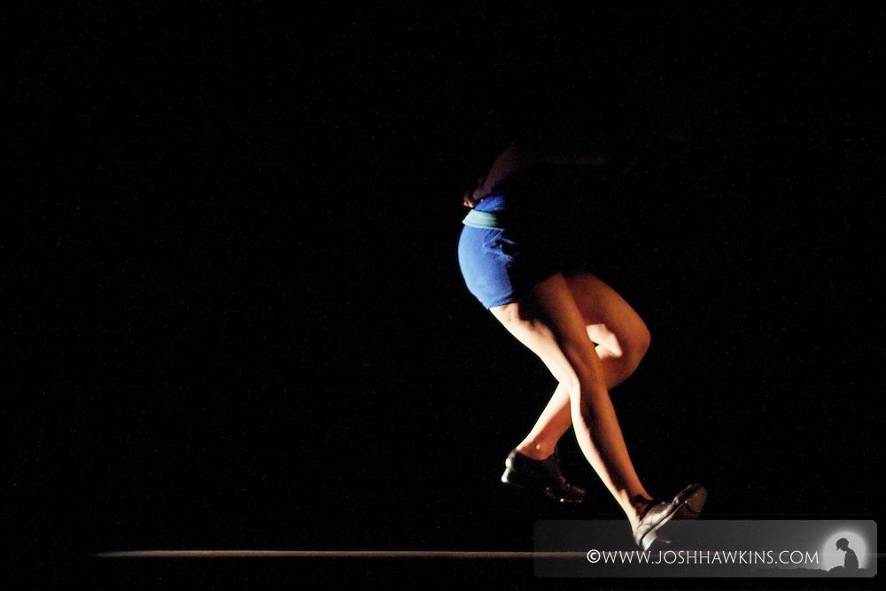 Chicago Tap Theatre - Tap!(ish).Perception, choreography by Kendra Jorstad.Dancer, Jenna Deidel