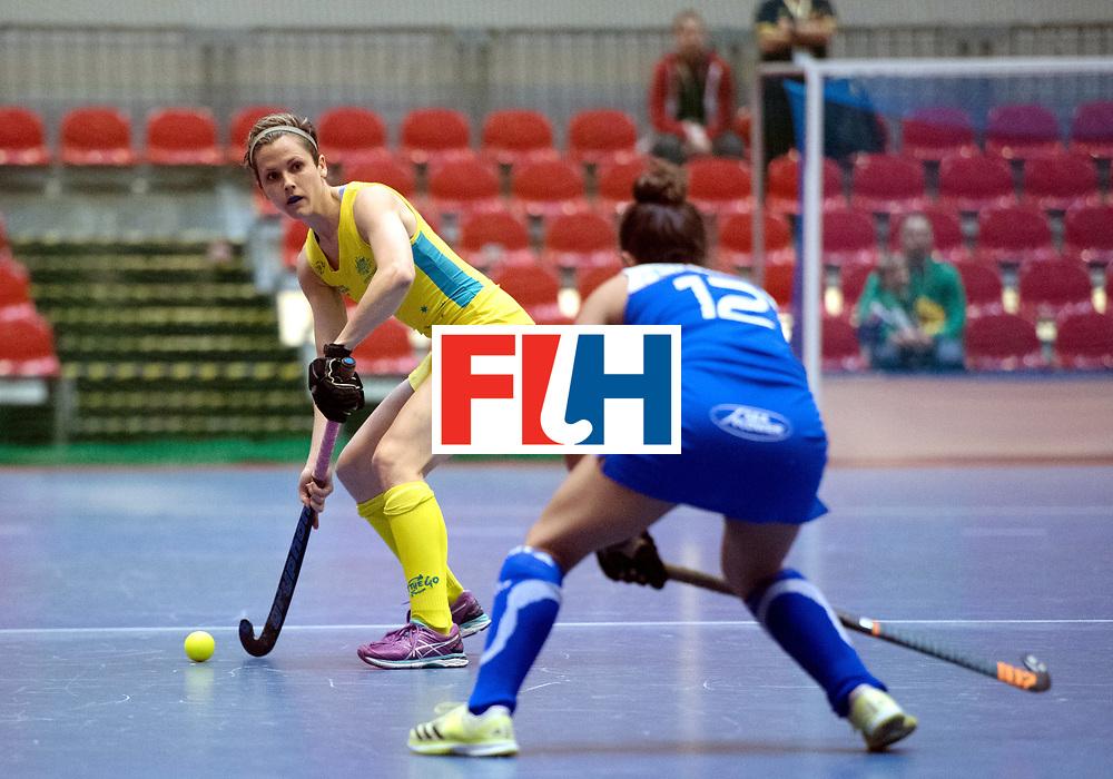 BERLIN - Indoor Hockey World Cup<br /> Australia - Namibia<br /> foto: HOWARD Lindsey<br /> WORLDSPORTPICS COPYRIGHT FRANK UIJLENBROEK