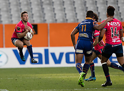 Tasman's Mitchell Hunt, left, collects a high ball against Otago in the Mitre 10 Cup rugby match, Forsyth Barr Stadium, Dunedin, New Zealand, Sept. 16 2017.  Credit:SNPA / Adam Binns ** NO ARCHIVING**