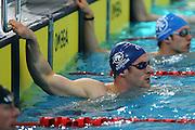 William Benson, Mens 50m butterfly, New Zealand Short Course Swimming Championships, Sir Owen G. Glenn National Aquatic Centre, AUT Millennium, Auckland. 11 August 2015. Copyright Photo: William Booth / www.photosport.nz