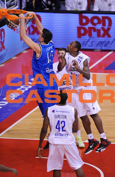 DESCRIZIONE : Biella Beko All Star Game 2012-13<br /> GIOCATORE : Riccardo Cervi<br /> CATEGORIA : Schiacciata<br /> SQUADRA : Italia Nazionale Maschile<br /> EVENTO : All Star Game 2012-13<br /> GARA : Italia All Star Team<br /> DATA : 16/12/2012 <br /> SPORT : Pallacanestro<br /> AUTORE : Agenzia Ciamillo-Castoria/A.Giberti<br /> Galleria : FIP Nazionali 2012<br /> Fotonotizia : Biella Beko All Star Game 2012-13<br /> Predefinita :