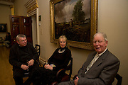 Len McComb, ANDREA PALLADIO: HIS LIFE AND LEGACY, Royal Academy. Piccadilly. London. 27 January 2009 *** Local Caption *** -DO NOT ARCHIVE -Copyright Photograph by Dafydd Jones. 248 Clapham Rd. London SW9 0PZ. Tel 0207 820 0771. www.dafjones.com<br /> Len McComb, ANDREA PALLADIO: HIS LIFE AND LEGACY, Royal Academy. Piccadilly. London. 27 January 2009