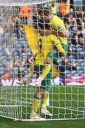 Picture by Paul Chesterton/Focus Images Ltd.  07904 640267.28/01/12.Grant Holt of Norwich City opens the scoring and celebrates with David Fox during the FA Cup fourth round match at The Hawthorns Stadium, West Bromwich.