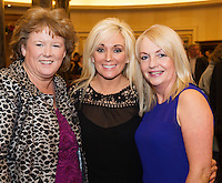Siobhan Farragher with Jean Forde Westside and Martina McCormack at the Gorta Self Help Africa Annual Ball at the Galway Bay Hotel, Salthill Galway.<br /> Photo:Andrew Downes, xposure.