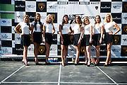 October 3-5, 2013. Lamborghini Super Trofeo - Virginia International Raceway. Grid girls.