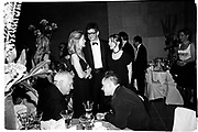 Lady Helen Taylor, Jay Jopling, Sam Taylor Wood,  Michael Craig-Martin, Damian Hirst. Centenary Gala dinner. Tate gallery. 1 July 1997 97© Copyright Photograph by Dafydd Jones 66 Stockwell Park Rd. London SW9 0DA Tel 020 7733 0108 www.dafjones.com