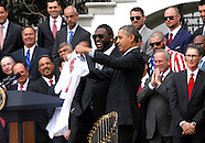 Obama and Red Soxs