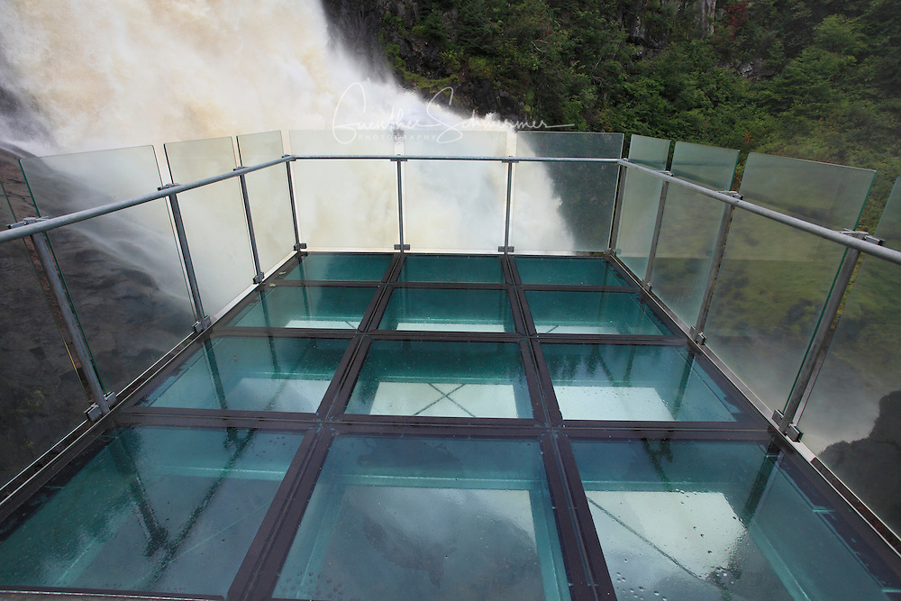 Ouiatchouan Falls, Val Jalbert,Quebec,Canada