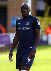 September 30, 2017 - Southend, England, United Kingdom - Marc-Antoine Fortune of Southend United .during Sky Bet League one match between Southend United against Blackpool at  Roots Hall,  Southend on Sea England on 30 Sept  2017  (Credit Image: © Kieran Galvin/NurPhoto via ZUMA Press)