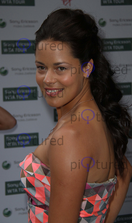 Ana Ivanovic World Tennis Association Pre-Wimbledon Party held at the Roof Gardens, Kensington, London, UK, 17 June 2010. For piQtured Sales contact: Ian@piqtured.com Tel: +44(0)791 626 2580 (Picture by Richard Goldschmidt/Piqtured)