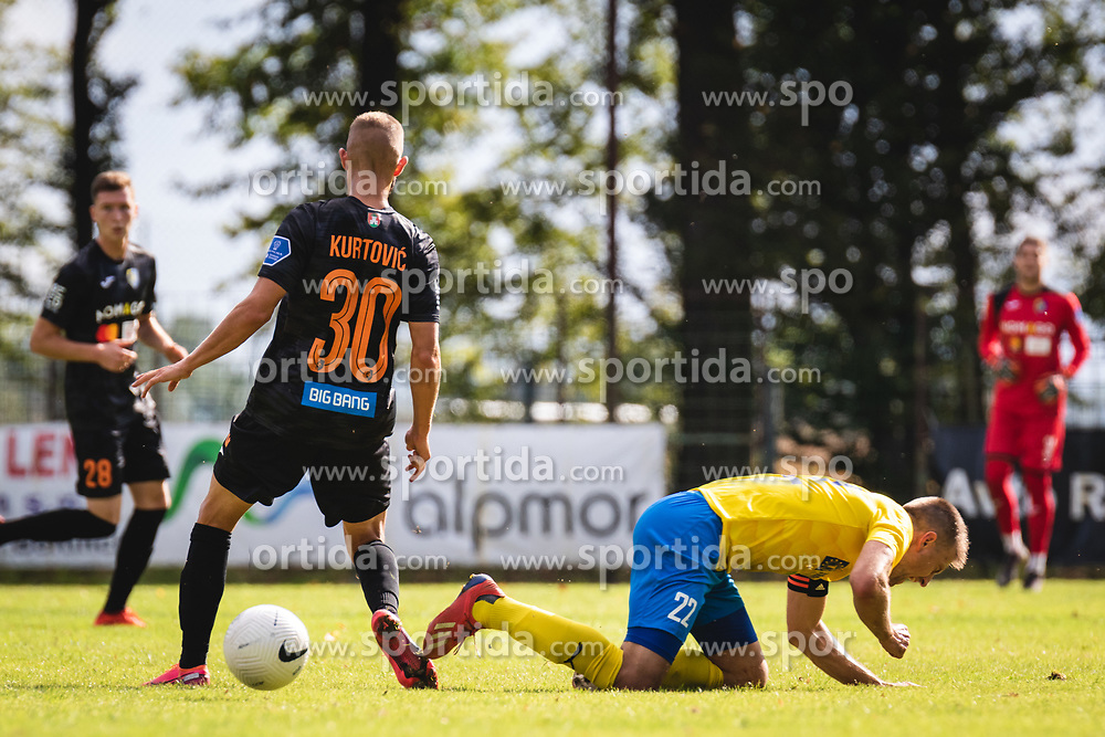 during football match between ND Beltinci and NK Bravo in 1st Round of Pokal Slovenije 2020/21, on September 23, 2020 in Športni park Beltinic, Slovenia. Photo by Blaž Weindorfer / Sportida