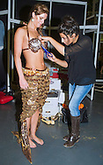 Chocolate Fashion Show Backstage