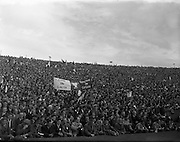 22/09/1957<br /> 09/22/1957<br /> 22 September 1957<br /> <br /> Crowd Scene at Louth vs Cork All Ireland Football Final<br /> <br /> <br /> Louth played Cork on 22 September 1957.  The attendance at the match was 72,732, the final score was Louth 1-9 Cork 1-7. This was their third and final All Ireland Final Win - the others having been in 1910 and 1912.