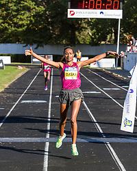 Boston Athletic Association Half Marathon, Mamitu Daska wins