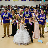 2018 Berryville Homecoming Ceremony (Basketball)
