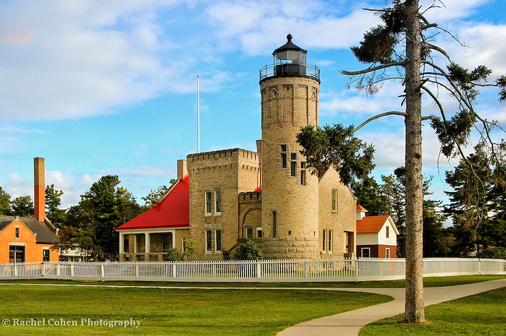 &quot;Old Mackinac Point Lighthouse&quot;<br />