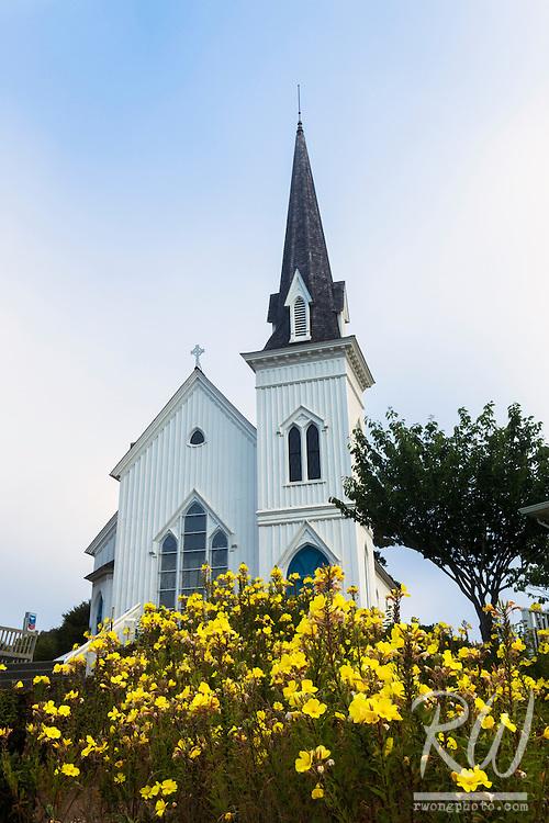 Presbyterian Church, Mendocino, California