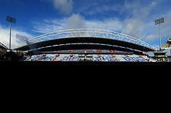 A general view of The John Smiths Stadium, home to Huddersfield Town as they prepare to celebrate the Chinese New Year of the Dog - Mandatory by-line: Robbie Stephenson/JMP - 11/02/2018 - FOOTBALL - The John Smith's Stadium - Huddersfield, England - Huddersfield Town v Bournemouth - Premier League