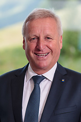 23.06.2017, Saalbach Hinterglemm, AUT, OeSV, Präsidentenkonferenz, Portraits, im Bild OSR Wolfgang Labenbacher (LV Präsident Niederösterreich) // during the Austrian Skifederation Presidential Conference Portrait Photoshooting at the Powerhof in Saalbach Hinterglemm, Austria on 2017/06/23. EXPA Pictures © 2017, PhotoCredit: EXPA/ JFK