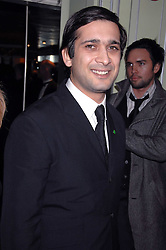 JIMMI MISTRI attending the 27th Awards of the London Film Critics' Circle 2007 in aid of the NSPCC held at The Dorchester, Park Lane, London on 8th February 2007.<br />