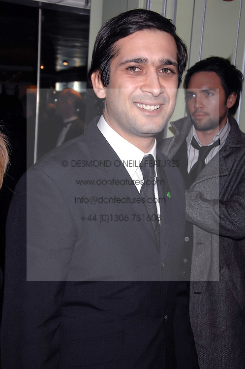 JIMMI MISTRI attending the 27th Awards of the London Film Critics' Circle 2007 in aid of the NSPCC held at The Dorchester, Park Lane, London on 8th February 2007.<br /><br />NON EXCLUSIVE - WORLD RIGHTS