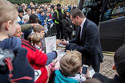 Fulham manager Slavisa Jokanovic signs fans program - Mandatory by-line: Jason Brown/JMP - 19/02/2017 - FOOTBALL - Craven Cottage - Fulham, England - Fulham v Tottenham Hotspur - Emirates FA Cup fifth round