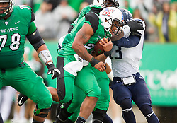 Oct 3, 2015; Huntington, WV, USA; Marshall Thundering Herd running back Tony Pittman runs for a touchdown during the second quarter against the Old Dominion Monarchs at Joan C. Edwards Stadium. Mandatory Credit: Ben Queen-USA TODAY Sports