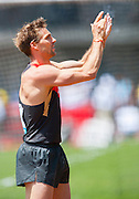 BJORN OTTO (GER) applauds the crowd as he competes in the Mens Pole Vault competition during the second day of the Diamond League event Prefontaine Classic held at the University of Oregons Hayward Field.The Prefontaine Classic is named for University of Oregon track legend Steve Prefontaine. Kynard finished second in the event. Otto finished second in the event.