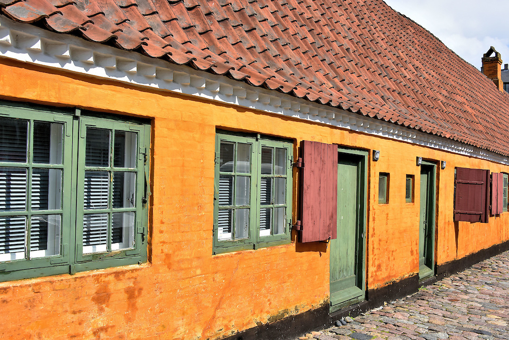 Nyborder Old Naval Barracks in Copenhagen, Denmark <br />