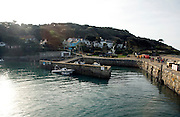 The harbour Island of Herm, Channel Islands, Great Britain