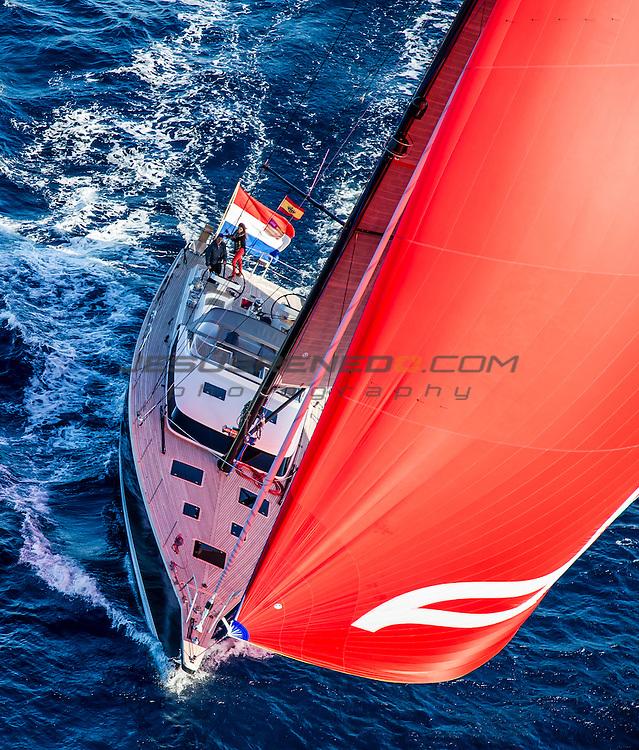 Contest 67CS , Designed by Judel&Vrolijk. Palma de Mallorca