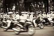 traffic Ho Chi Minh City