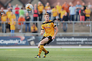 Kevin Feely of Newport county. Skybet football league two match, Newport county v Northampton Town at Rodney Parade in Newport, South Wales on Saturday13th Sept 2014<br /> pic by Mark Hawkins, Andrew Orchard sports photography.