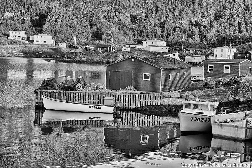 Coastal fishing village<br />Salvage<br />Newfoundland & Labrador<br />Canada