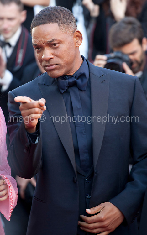 Actor Will Smith at the 70th Anniversary Ceremony arrivals at the 70th Cannes Film Festival Tuesday 23rd May 2017, Cannes, France. Photo credit: Doreen Kennedy