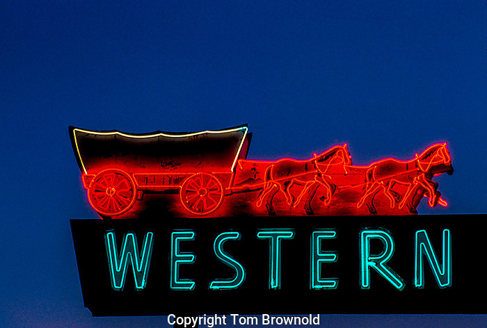 Neon Sign in Flagstaff, Arizona