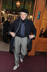 BOB GELDOF attends the premier of 2012 Cirque du Soleil's Totem at the Royal Albert Hall, London on 5th January 2012,
