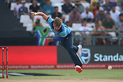 Sam Curran during the One Day International match between South Africa and England at PPC Newlands, Capetown, South Africa on 4 February 2020.