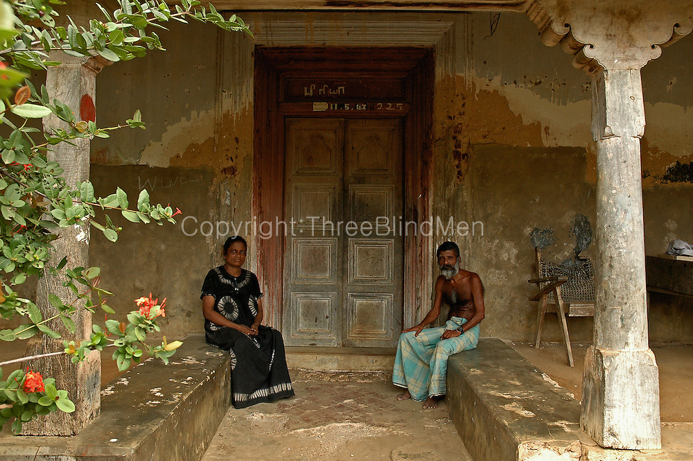 Vaddukottai House 01. Interior of a home on the Jaffna Peninsula.<br />
