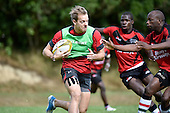 20150204 Wellington Sevens - Canada and Kenya Training