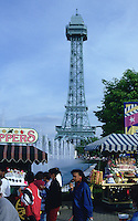 Kings Island Eiffel Tower Cincinnati Ohio