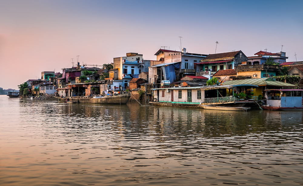 VAN HA, VIETNAM - CIRCA SEPTEMBER 2014: Lang Gom Tho Ha village. The village belongs to the Van Ha commune, it is located 50km away from Hanoi in Northern Vietman