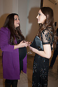 PALOMA BAILEY; SARAH STANBURY, Opening of Bailey's Stardust - Exhibition - National Portrait Gallery London. 3 February 2014