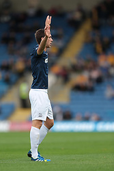 Southend United's Luke Prosser - Photo mandatory by-line: Nigel Pitts-Drake/JMP - Tel: Mobile: 07966 386802 05/10/2013 - SPORT - FOOTBALL - Kassam Stadium - Oxford - Oxford United v Southend United - Sky Bet League 2