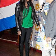 NLD/Hilversum/20120105 - Bekendmaking deelnemers Nationaal Songfestival 2012, Pearl Jozefzoon