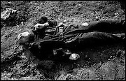 War in Kosovo<br /> A Uniformed Man, Believed To Be Kosovo Liberation Army Soldier, In The Village Of Jeskova, Just East Of Prizren March 12, 1999