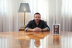 OCT 12 2013 American  Writer and Journalist Jeremy Scahill