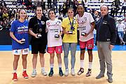 Finali Nazionali Under 20 Femminile 2017<br /> Premiazioni<br /> FIP 2017<br /> Roseto degli Abruzzi, 16/04/2017<br /> Foto Ciamillo - Castoria