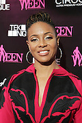 19 November-New York, NY: Recording Artist/On-Air Personality MC Lyte attends the 4th Annual WEEN (Women in Entertainment Empowerment Network) Awards held at Helen Mills Theater on November 19, 2014 in New York City.  (Terrence Jennings)