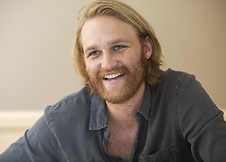 July 29, 2018 - Hollywood, CA, USA - Wyatt Russell (son of Kurt Russell) stars in the TV Series Lodge 49 (Credit Image: © Armando Gallo via ZUMA Studio)